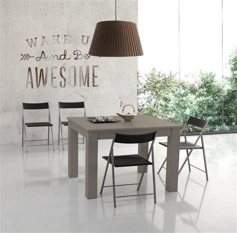 tavoli allungabili quadrati tavolo quadrato allungabile fino a tre metri idfdesign