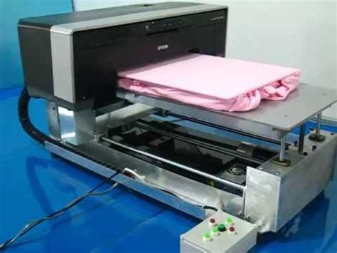 Mesin Printer Dtg A2 Epson by A3 Demo 5 Light Tshirt On Diy Dtg Epson A3 Direct To