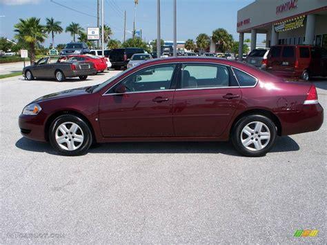2007 bordeaux chevrolet impala ls 545835 gtcarlot