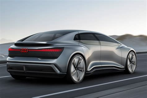Audi Elaine 2020 by Audi Aicon And Elaine Concepts At 2017 Frankfurt Motor