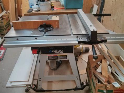 delta industrial table saw delta industrial contractors table saw saanich
