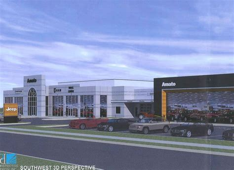 Milwaukee Jeep Dealers Amato Planning New Dealership In Glendale Biztimes Media