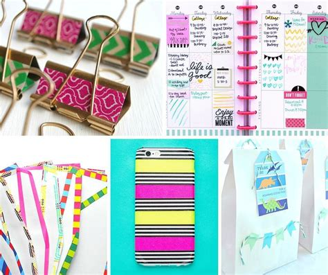 washi tape designs 10 fabulous washi tape ideas the paperdashery