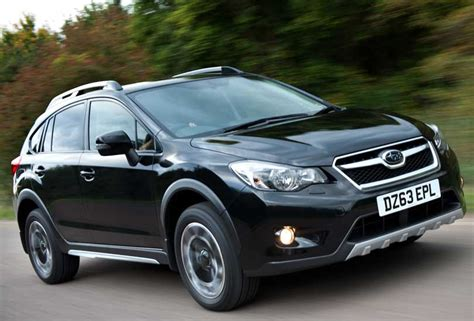 best compact crossover limited edition subaru xv black drive co uk