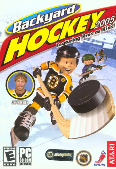 backyard hockey online backyard hockey 2005 gamespot
