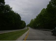 U.S. Federal Route 40; Clay County, Indiana Knightsville
