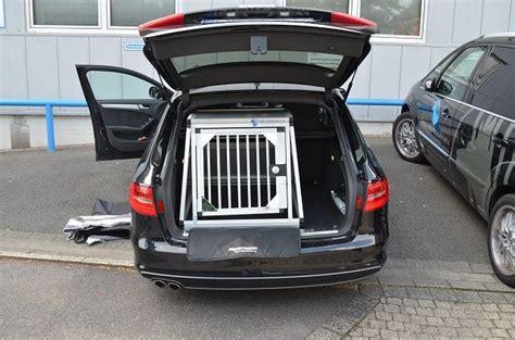 Hundebox F R Audi A4 Avant by Hundebox Einzelbox F 252 R Audi A4 Avant B8 Sonderbau 281