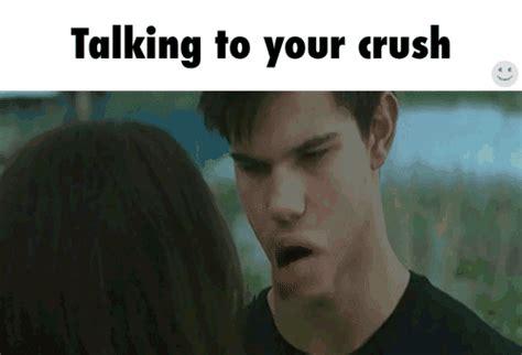 struggles  talking  crush tumblr memes hilarious