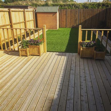 garden decking holmbush fencing