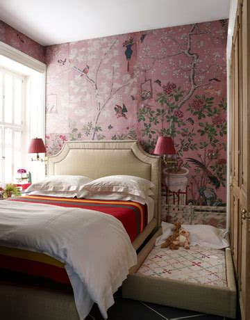 pink wallpaper for bedroom chinoiserie archives panda s house 6 interior decorating ideas