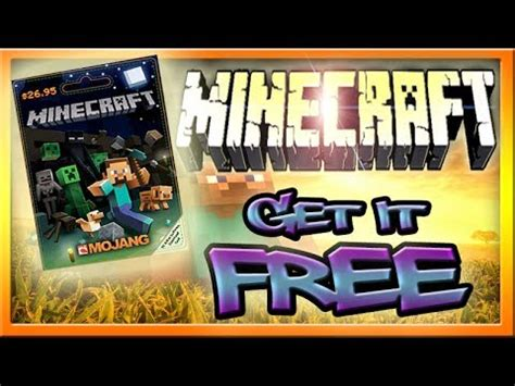 get a minecraft giftcard free fast doovi