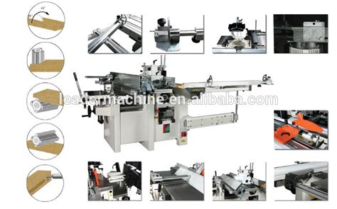european woodworking machinery european quality ce universal woodworking machine combined