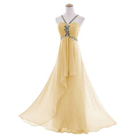 Sleeveless Evening Gown a line chiffon sleeveless beading evening gown dress