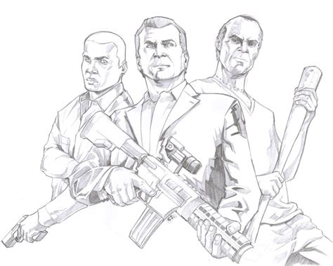 Grand Theft Auto Coloring Pages Coloring Pages Gta 5 Coloring Pages