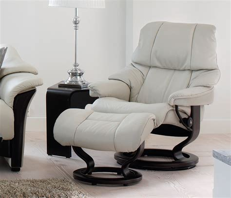 Vegas Recliner by Stressless Reno Swivel Recliners Wharfside Luxury Furniture