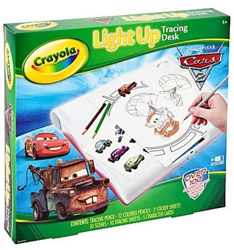 Crayola Light Up Tracing Desk tgjims crayola cars 2 light up tracing desk