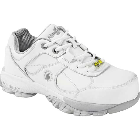 womens steel toe athletic shoes nautilus s steel toe static dissipative athletic