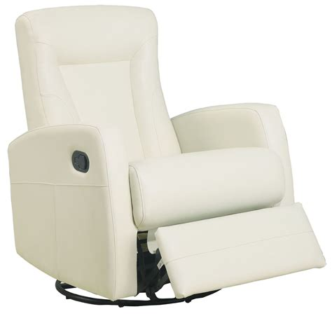leather swivel rocker recliner this design