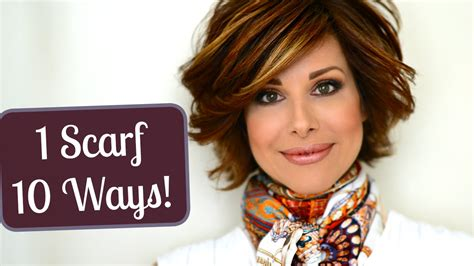 top 10 ways to wear a scarf sparkinlist