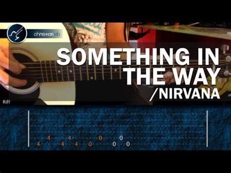 youtube tutorial nirvana c 243 mo tocar quot something in the way quot de nirvana en guitarra