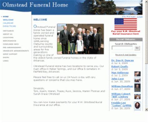 olmstead cc olmstead funeral home heber springs