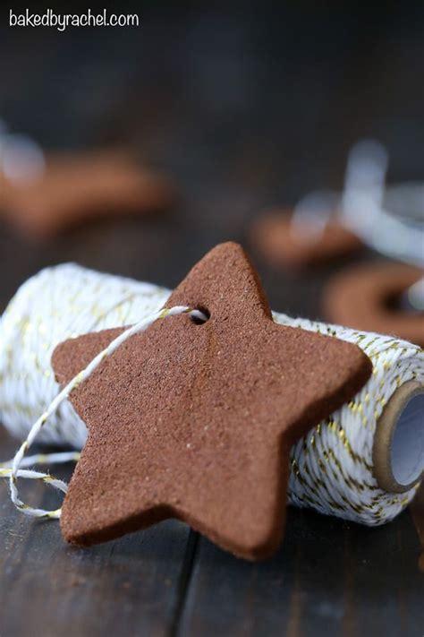 cinnamon ornaments apple cinnamon and holiday crafts on