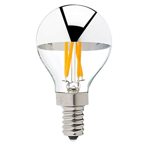 silver tipped light bulbs g14 candelabra led silver tipped led filament