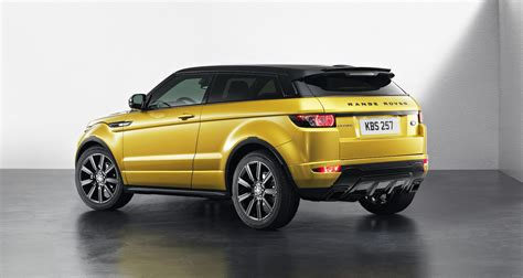 land rover yellow range rover evoque sicilian yellow limited edition
