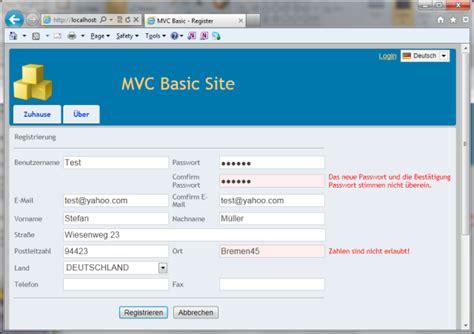 simple layout design in mvc 4 mvc basic site step 1 multilingual site skeleton