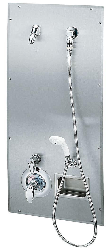 Ada Compliant Shower by Recess Mounted Ada Compliant Wall Shower Bradley Corporation
