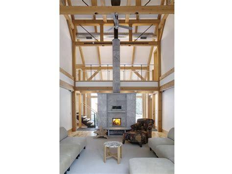 Soapstone Dealers Massachusetts Tulikivi Soapstone Fireplace Barn Wooden Beams