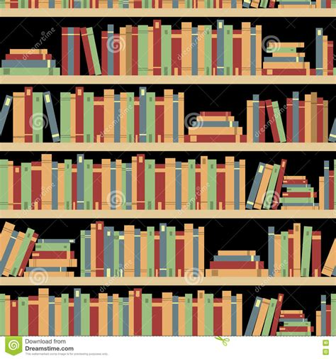 pattern image library seamless books seamless pattern with books library