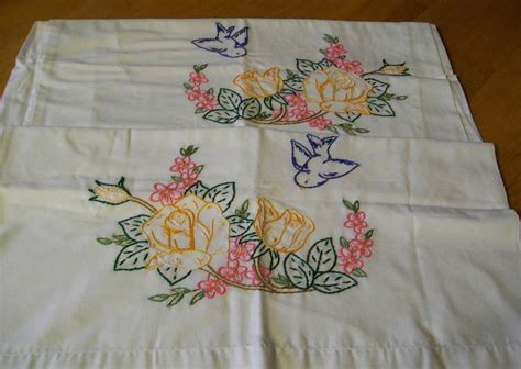 Pillow Embroidery Designs by Embroidered Pillow Covers Embroidery Designs