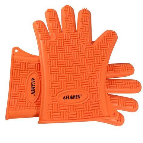 Model Kitchen Gloves Flamen Oven Mitt Hg1901 The Home Depot
