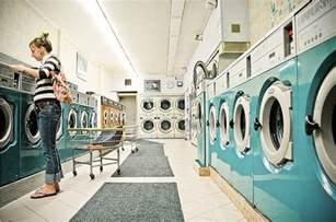 light blue laundromat laundromat