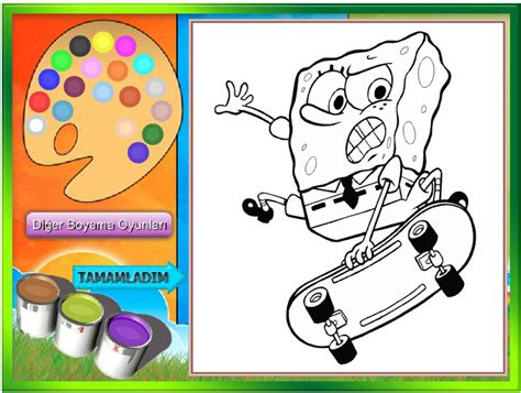 spongebob coloring pages games spongebob coloring book games spongebob coloring book game