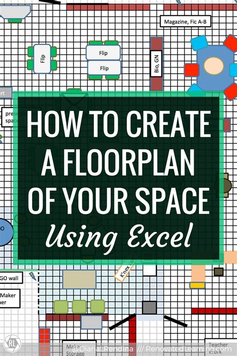 how to create a floor plan how to create a floorplan of your space in excel