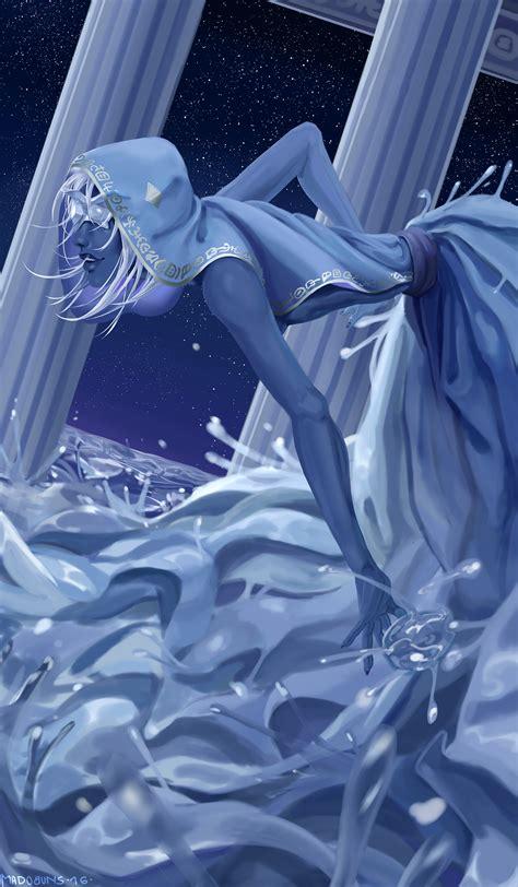 Ocean Blue Paint by Steven Universe Blue Diamond Speedpaint By Madobuns On