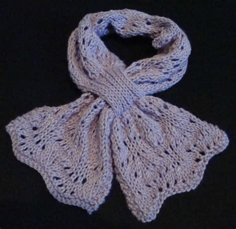 lacy bowknot scarf