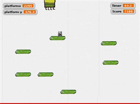 doodle jump java code doodle jump beta 1 6 on scratch