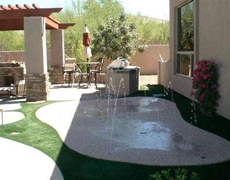 best 25 backyard splash pad ideas on boy