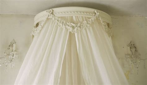 shabby chic bed crown shabby chic bed canopy corona ceil de lit bed