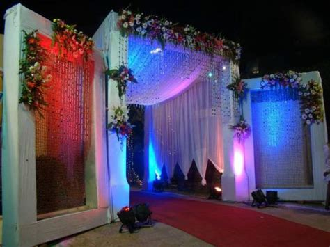 Entrance Decoration Wedding Reception Decorators In Pondicherry Chennai