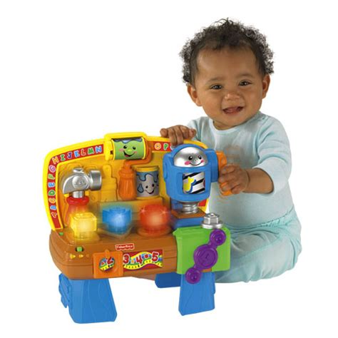 fisher price baby tool bench laugh learn learning workbench