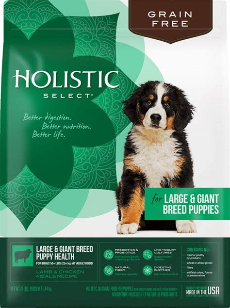 holistic select large breed puppy holistic select large breed puppy food review best large breed puppy