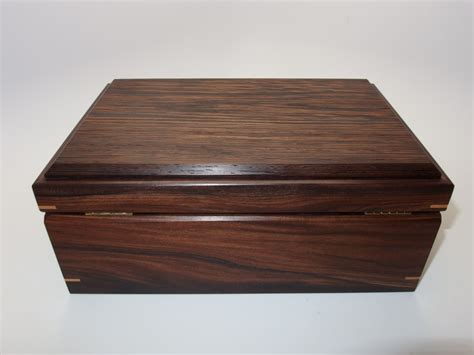 Handmade Keepsake Boxes - keepsake box bolivian rosewood and