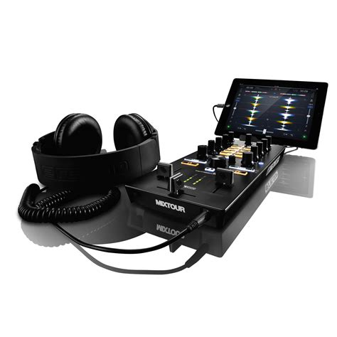 best portable audio interface reloop mixtour portable dj mixer and audio interface