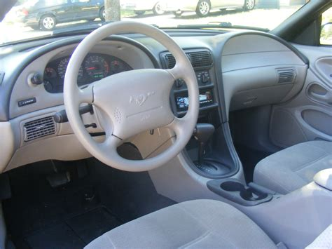 1999 mustang interior 1999 ford mustang pictures cargurus