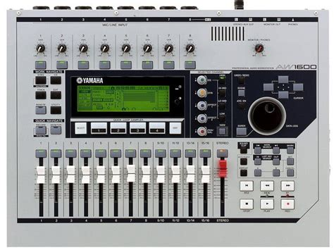 yamaha aw  track hard disk recorder zzounds