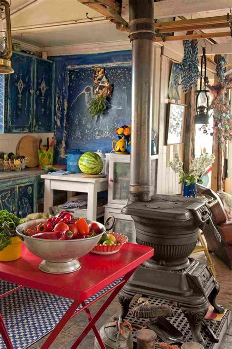 bohemian kitchen design 49 colorful boho chic kitchen designs digsdigs